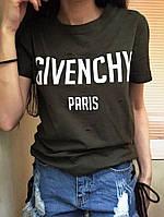 Футболка женская GIVENCHY PARIS в ассортименте