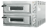 Двухкамерная печь для пиццы