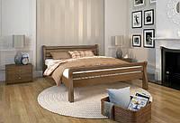 """Кровать деревянная """"Верона"""" 120*190/200, Темный орех"""