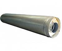 Труба из нержавеющей стали Versia-Lux с теплоизоляцией в кожухе из оцинкованной стали