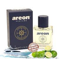 Areon Car Perfume 50ml Verano Azul стекло