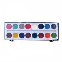 Краски акварельные медовые 16 цветов в пласт коробке 49491180