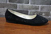 Балетка женская Новоесолнце А54-7 black