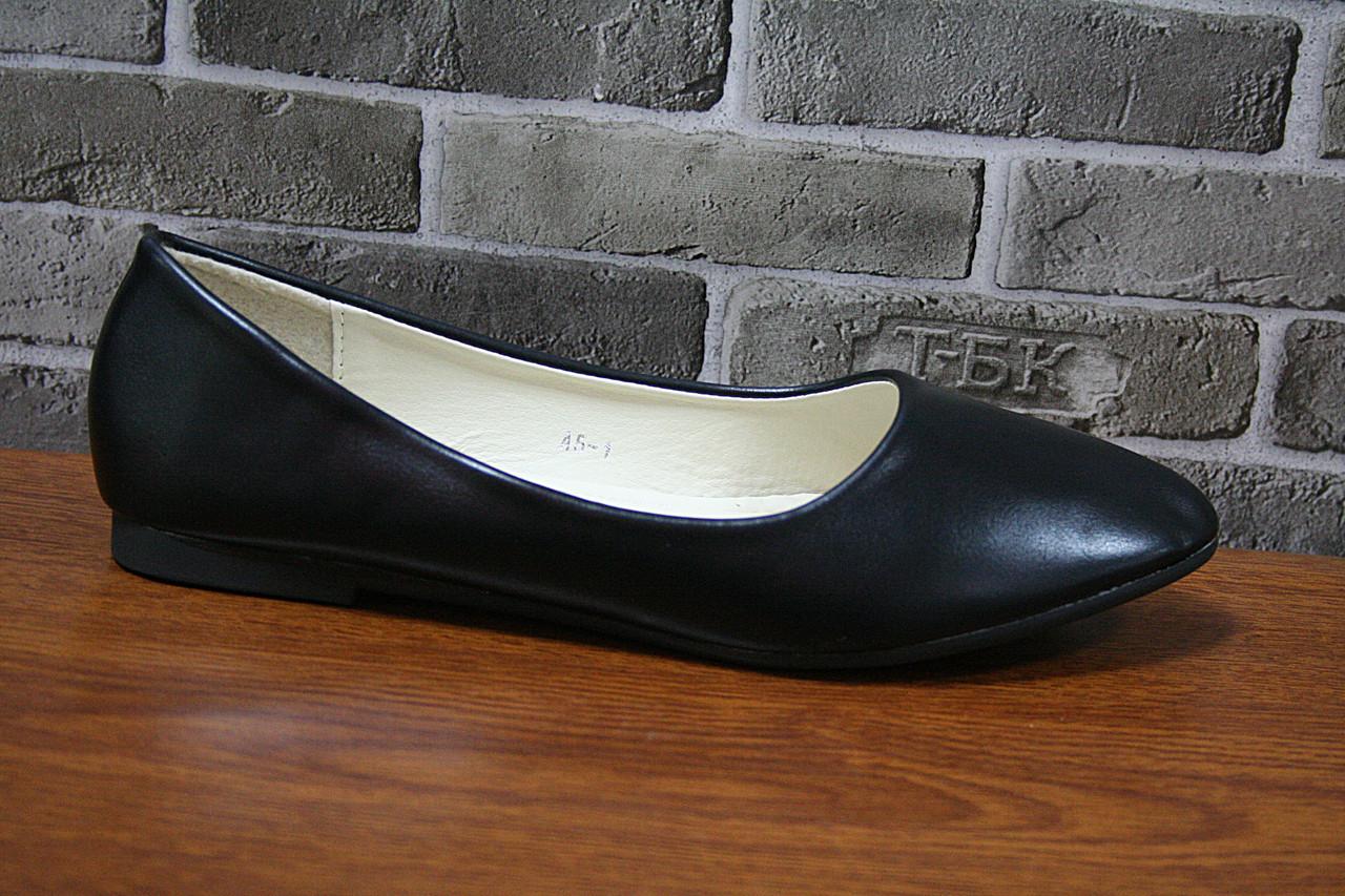 e2a9655276c1 Балетка женская Новоесолнце А5-1 black