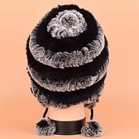 Женская меховая шапка. Модель 61514, фото 4