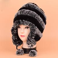 Женская меховая шапка. Модель 61514, фото 2