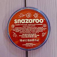 Аквагрим для лица и тела Snazaroo, красный, 18мл