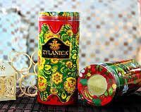 Черный чай Zylanica красная свеча Peko ж/б 100 гр