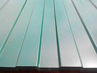 Профнастил бывает оцинкованный (Zn) и цветной (PE) от 8 волны до 75, ширина от 0,8м до 1,2м, длина под заказ клиента