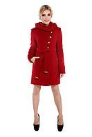 Пальто женское зимнее,магазин пальто М-136-20-Z красный