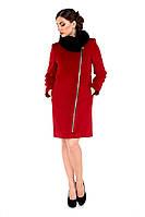 Пальто женское кашемировое зимнее,магазин пальто М-131-20-Z-М бордо