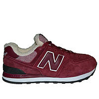 Кроссовки New Balance 574 Fur Marsala