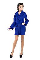 Пальто женское демисезонное электрик M-153-03-D-SH