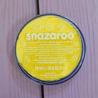 Аквагрим для лица и тела Snazaroo, желтый, 18мл