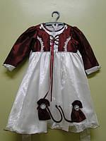 Детское нарядное платье 42