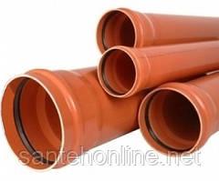 Труба каналізаційна зовнішня 110х2,2x1 м