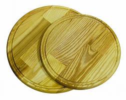 Доска круглая для подачи пиццы 540х20 мм ДП540
