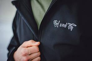 Мужская куртка Prado Black черная, фото 3