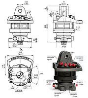 Гидравлические ротаторы для кранов-манипуляторов