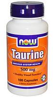 Таурин, Здоровье глаз,нервной,сердечно-сосудистой систем,500 мг