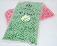 Воск в гранулах HOT WAX  500 гр. (чайное дерево)