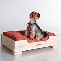 Dog In-kind Original - Натуральная (деревянная кроватка для собак)