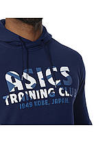 Толстовка с капюшоном Asics Training Club Hoody 141091 8052, фото 3