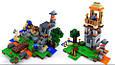 """Конструктор лего майнкрафт Аналог Lego Minecraft Bela 10177 """"Minecraft 8 в 1"""" 517 дет, фото 4"""