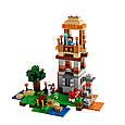 """Конструктор лего майнкрафт Аналог Lego Minecraft Bela 10177 """"Minecraft 8 в 1"""" 517 дет, фото 7"""