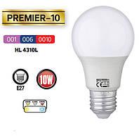 Светодиодная лампа HOROZ HL4310L PREMIER 10W E27 температура свечения 3000/6400 К