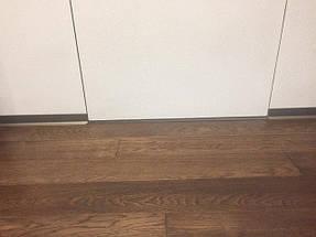 Скрытые двери + алюминиевый плинтус. Подрезка торцов плинтуса.