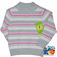 Теплый свитер из шерсти, для девочки 1-4 года
