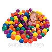 Мячики шарики для сухого бассейна Suba93 500 шт. 7 см.