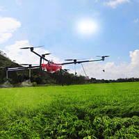 Квадрокоптер для опрыскивания полей