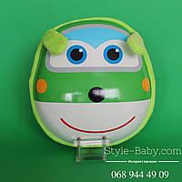Детский рюкзак Самолет для самых маленьких с рисунком 28х11х28см