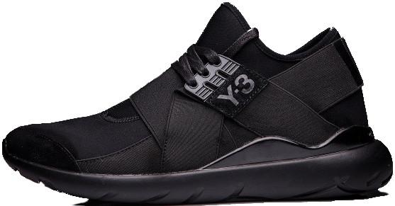 Мужские кроссовки Adidas Y-3 Qasa High Black - Интернет-магазин обуви и  одежды 0906e91a85d