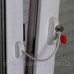 Защита на окна от детей, ограничитель открывания, Украина, BSL Cable prime, фото 2