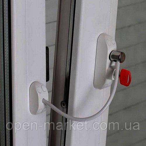 Защита на окна от детей, ограничитель открывания, Украина, BSL Cable prime