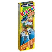 Крекер Vitakraft Junior для волнистых попугаев с кальцием, 2 шт