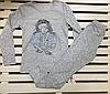 Детская трикотажная пижамка для девочки ТМ Фламинго рост 122