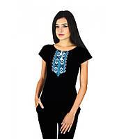 Футболка вишита хрестиком. Сучасні жіночі футболки. d1db375c4e16d