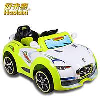 Детский электромобиль - Honda Sport  - ремни безопасности, пульт управления