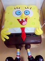 """Торт детский """"Губка Боб"""" для ребенка на день рождение под заказ."""