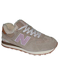 Кроссовки New Balance 574 Fur Cream
