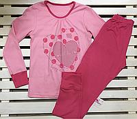 Трикотажная детская пижамка ТМ Фламинго рост 146 хлопковая