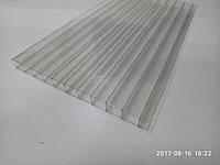 Сотовый поликарбонат 8 мм прозрачный 1200х2100