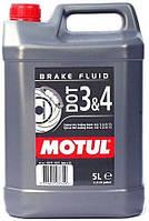 Тормозная жидкость Motul MOTUL DOT 3&4 / 5 литров, (807906 / 104247), original