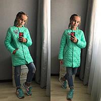 Детская Куртка-Пальто на девочку