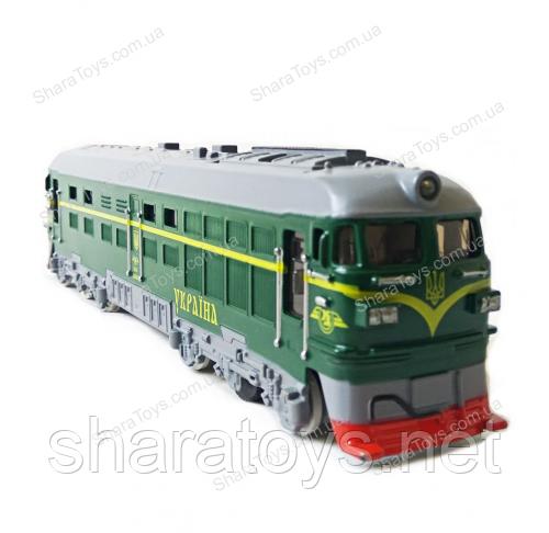 """Модель локомотива поезда - Интернет-магазин игрушек """"Shara Toys"""" в Днепре"""