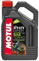 Масло Motul ATV-UTV EXPERT 4T 10W40 / 4 литра, (851641 / 105939), original